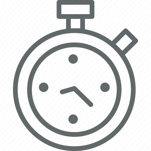 clock, stopwatch, timer, timing icon