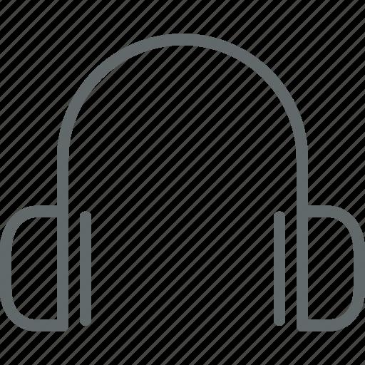 audio, earphone, headphone, marketing, music icon