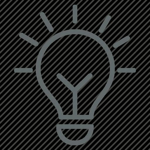 brainstorm, business, creative, energy, idea, lightbulb icon