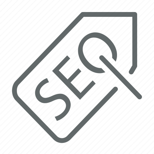 business, label, office, seo, tag icon