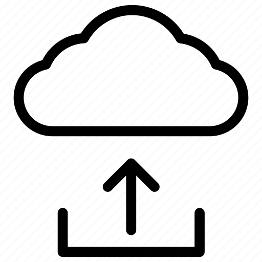 cloud computing, cloud data, cloud data sharing, cloud data uploading, cloud hosting icon