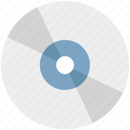 cd, compact disk, data storage, disk, dvd, music album, music record icon