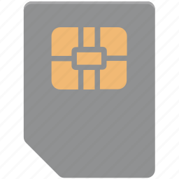 chip, integrated chip, microchip, phone sim, sim, sim card, subscriber identity module icon