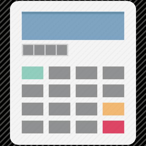 accounting, calculating device, calculation, calculator, digital calculator, finance, maths icon