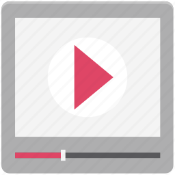 media, media player, multimedia, music player, play movie, streaming, video player icon