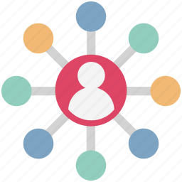 global network, internet, social community, social connection, social media, social network icon