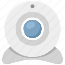 computer camera, live camera, video chatting, video conference, web camera, webcam icon