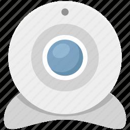 computer camera, live camera, video chatting, video conference, web camera, webcam icon