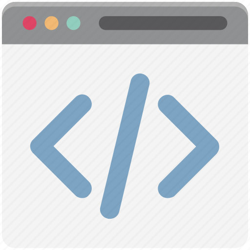 div, div coding, html, html coding, html language, source code, web development icon