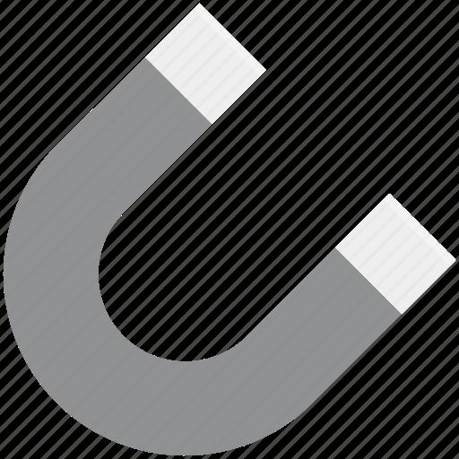 Attract, horseshoe magnet, magnet, magnetic, magnetism, magnetization, u-shaped icon - Download on Iconfinder