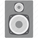 bass, loudspeakers, music, sound, speaker, speaker box, woofer icon