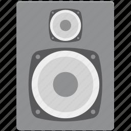 bass, loudspeakers, music, sound, speaker, speaker box, woofer icon