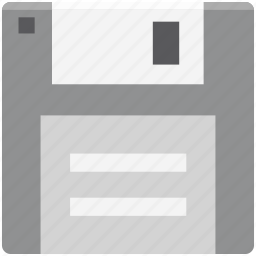 digital storage, diskette, floppy, floppy disk, floppy drive, multimedia, storage device icon