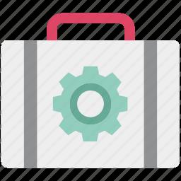 cog, cogwheel, garage tools, nut kit, repair tools, tool kit, work tools icon