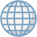 earth, earth grid, globe, internet grid, map, planet, world map icon