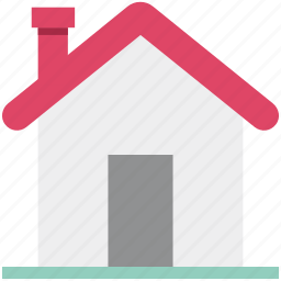 building, home, home page, house, real estate, shack, villa icon