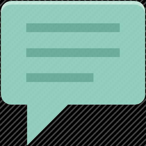 chat bubble, comments, communication, message, speech bubble, talk icon