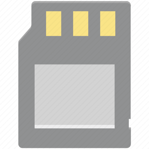 data storage, memory card, memory chip, memory storage, sd card, storage device icon