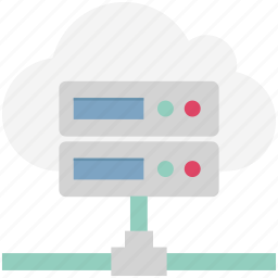 cloud computing, cloud server, data access, icloud, information access, network, server rack icon