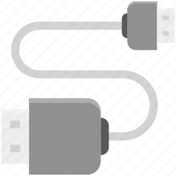 computer equipment, connector, data cable, micro usb cable, power cable, power cord, usb cable icon