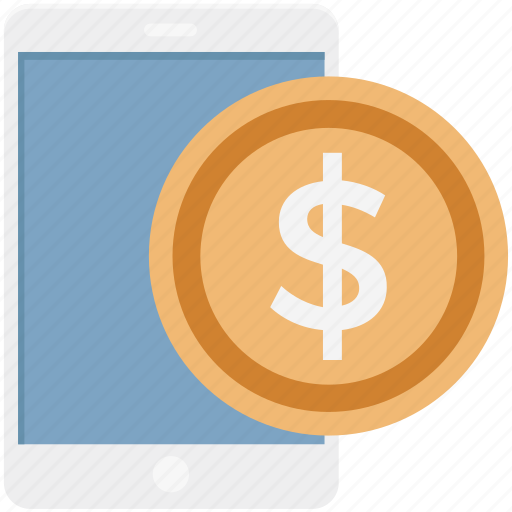dollar, finance, finance app, mobile banking, mobile payment, online payment icon
