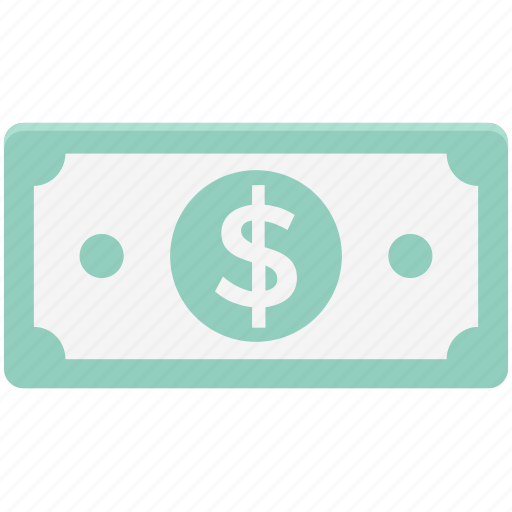 banknote, cash, currency, dollar, money, paper money, wealth icon