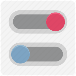 buttons, lever button, off button, on button, on off, toggle buttons, tweaks buttons icon
