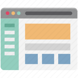 display, lcd, web content, web designing, web layout, web template, wireframe icon