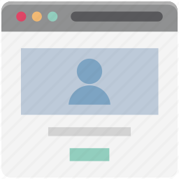 profile, profile popup, user, user details, web page, web profile, wireframe icon