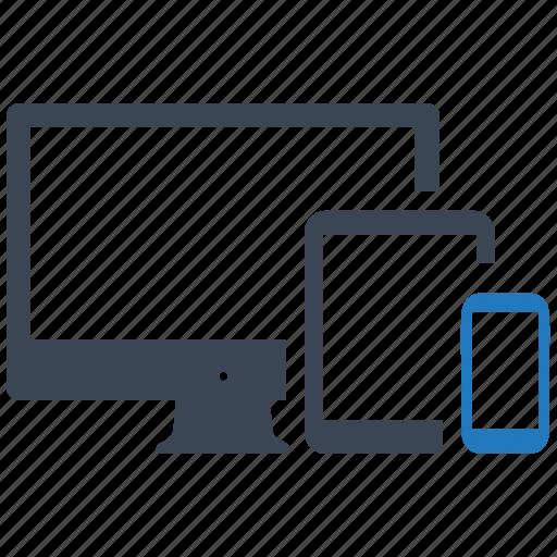devices, seo pack, seo services, seo tools, social media, web designer, web marketing icon