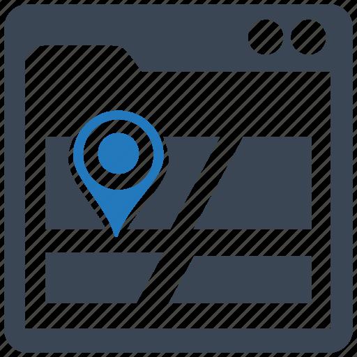 maps, seo pack, seo services, seo tools, social media, web designer, web marketing icon