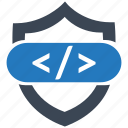 code, secure, seo pack, seo services, seo tools, web designer, web marketing icon