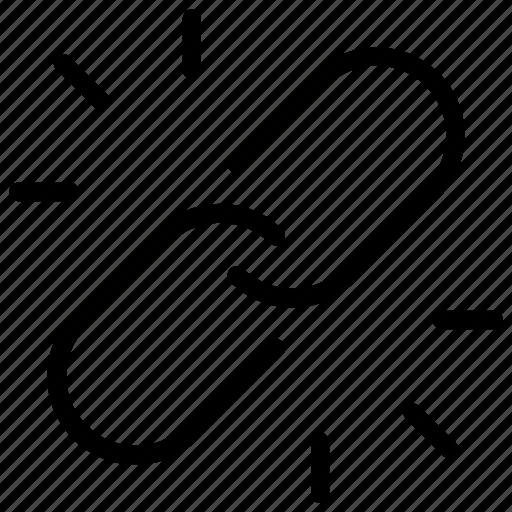 backlink, connection, link, website icon