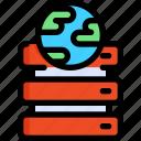 development, host, hosting, seo, server, web, website icon