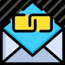backlink, development, email, link, seo, web, website icon