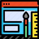 design, development, interface, seo, ui, web, website icon
