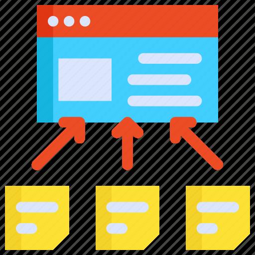 Content, development, link, seo, web, website icon - Download on Iconfinder