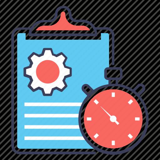 business setting, compensation, performance management, project management, project plan icon