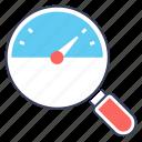 internet speed, speed analysis, speed checking, speed gauge, speed test, speedometer icon