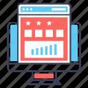business analytics, business infographic, data analytics, online analytics, web analytic icon