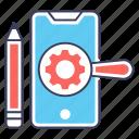 app configuration, app management, mobile maintenance, mobile seo, mobile setting icon