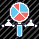 data analytics, seo, seo analysis, seo analytic, seo chart, seo infographic icon