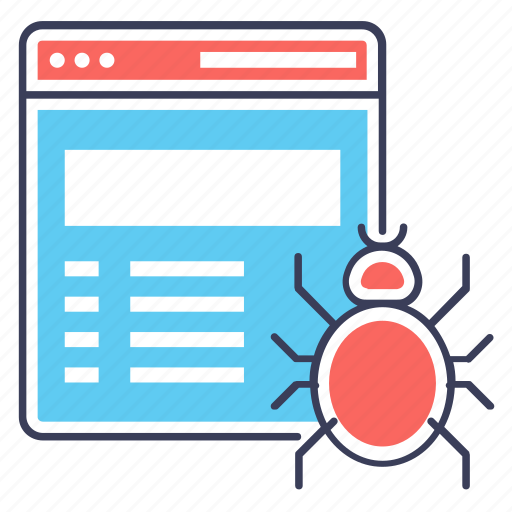 internet bot, internet spider, web crawler, web indexing icon