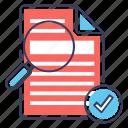 blogging, seo article, seo copywriting, seo text, seo writing icon