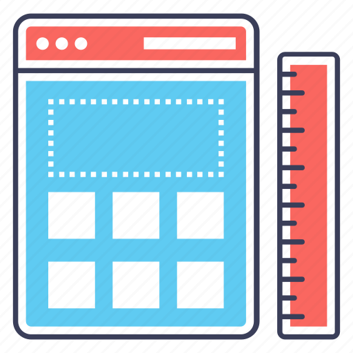 custom content, ui, user interface, web content, web layout, web template icon