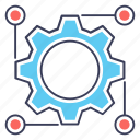 engineering, gear nodes, mechanical engineering, seo gear, technology icon