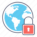 global protection, global security, network protection, network security, private network icon