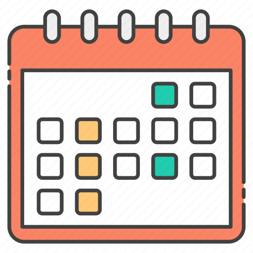 calendar, calender record, date, planner, yearbook, yearly calendar icon