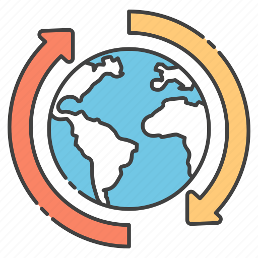 around global, around the globe, around the world, global service, international service icon