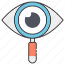 cyber eye, cyber monitoring, cyber security, eye monitoring, web visibility, webview icon